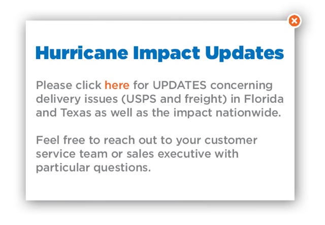 Hurricane Impact Updates